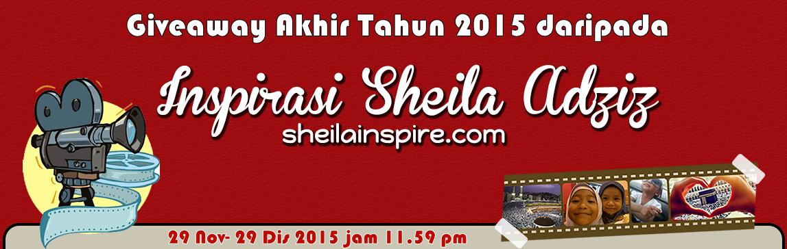 Give Away Akhir Tahun 2015 Sheila Inspire