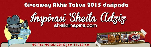 GIVEAWAY AKHIR TAHUN 2015 SHEILA INSPIRE