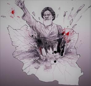 باز خوانی شعر ظهور  . برای چهلمین گذر انقلاب پر از جنازه و خون  و جنون شیخنمون اسلامگون!!22 بهمن پن