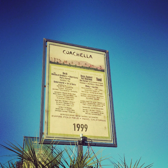 first coachella poster ever