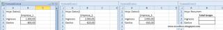Fórmulas 3D tridimensionales en Excel.