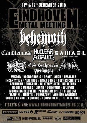 EINDHOVEN METAL MEETING (2015)