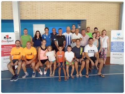 OneClinic, asistentes y Concejalía de Deportes.