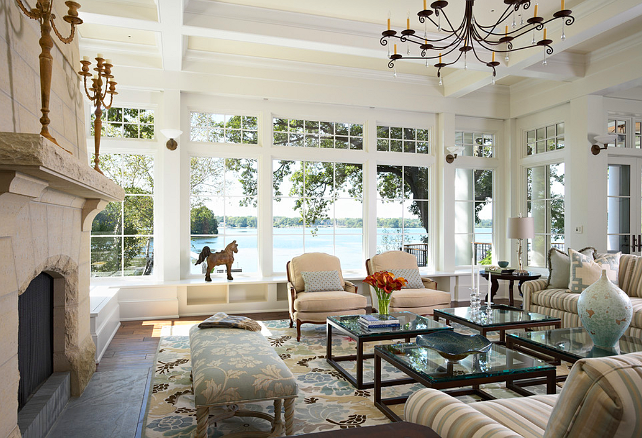 new home interior design traditional lake house