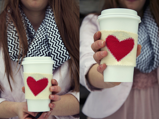 easy coffee cup cosy