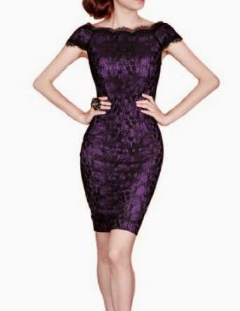 purple cocktail dress: dark purple cocktail dress
