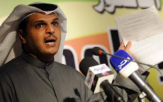 مداخلة الدكتور ثقل العجمي والتحدث عن حفظ قضية التحويلات الخارجية في توك شوك 14-5-2012