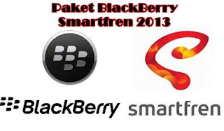 Daftar Harga Paket BB Blackberry SmartFren Terbaru 2013