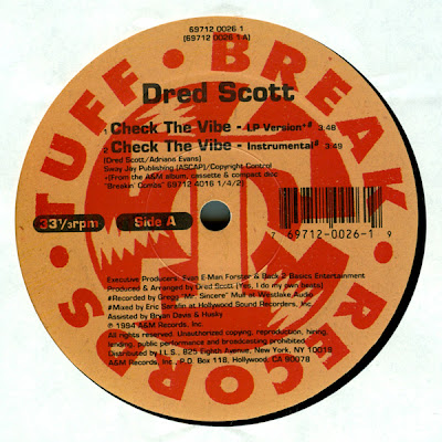 Dred Scott – Check The Vibe (VLS) (1994) (320 kbps)