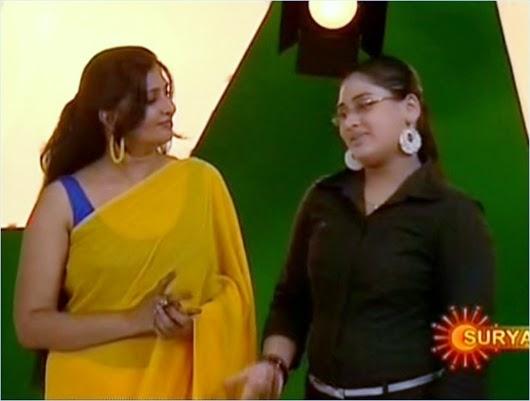 Maya viswanath hot in serial chandanamaza