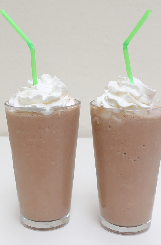 how to make homemade frozen hot chocolate