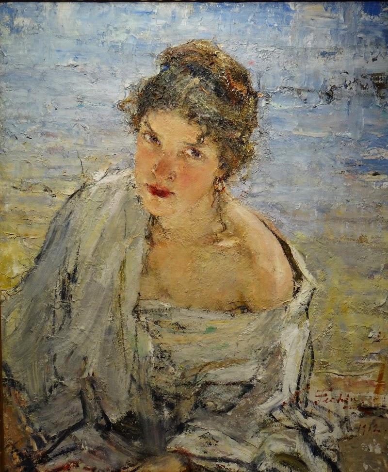 Alexandra Fechin by Nicolai Fechin