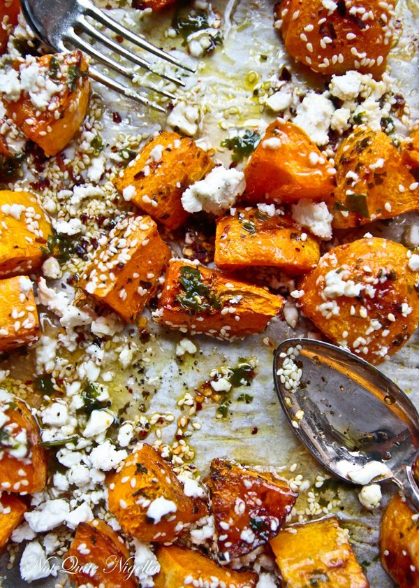 Roast Pumpkin w/ Feta recipe