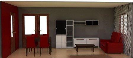 Decoraci n de interiores pinta tu casa con el color granate - Colores que combinan con el granate en paredes ...