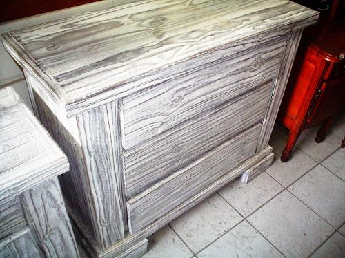 fotos de muebles de pino patinados - Cómo Aplicar la Técnica de Patinado a la Madera