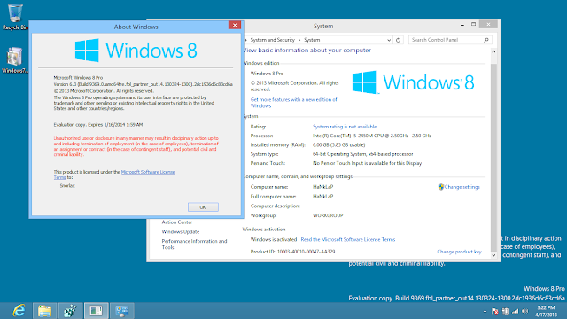 Windows 8 Blue x64bit free download Screenshots