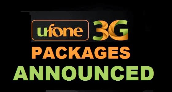 Ufone Announced Its 3G Packages | GALAKCIOUS — A Mar-Tech Blog
