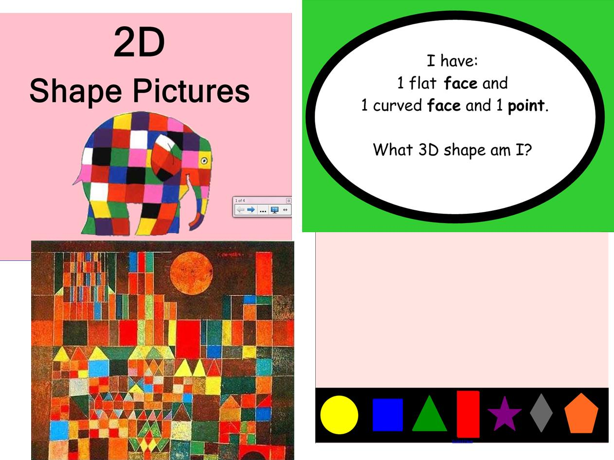 Teaching resource shape 2d 3d numeracy number ks1 early Make your own 3d shapes online