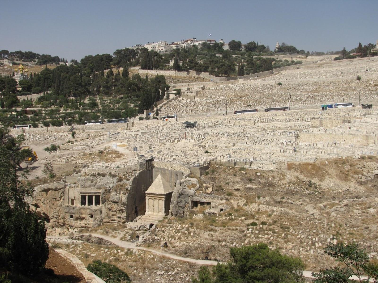 Israel, Jerusalén - Valle del Cedrón