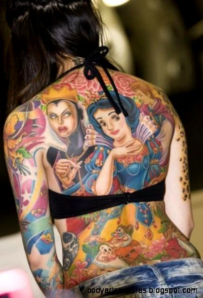 BODY ART TATTOO image galleries