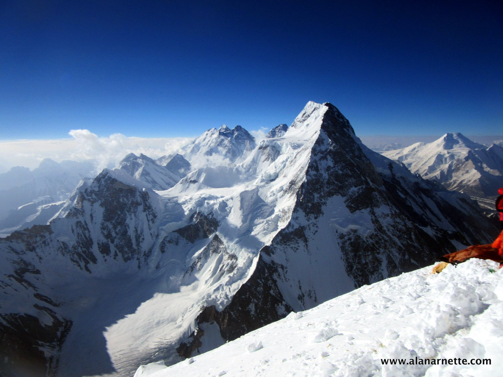 Gasherbrum 1 Summited G2 Broad Pk on ubbthreads