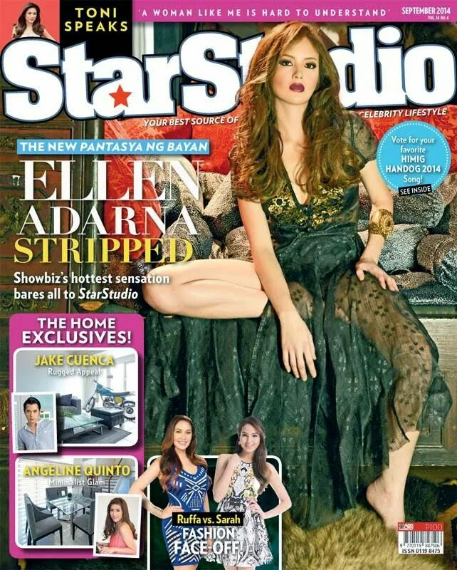 Ellen Adarna covers StarStudio Sept 2014