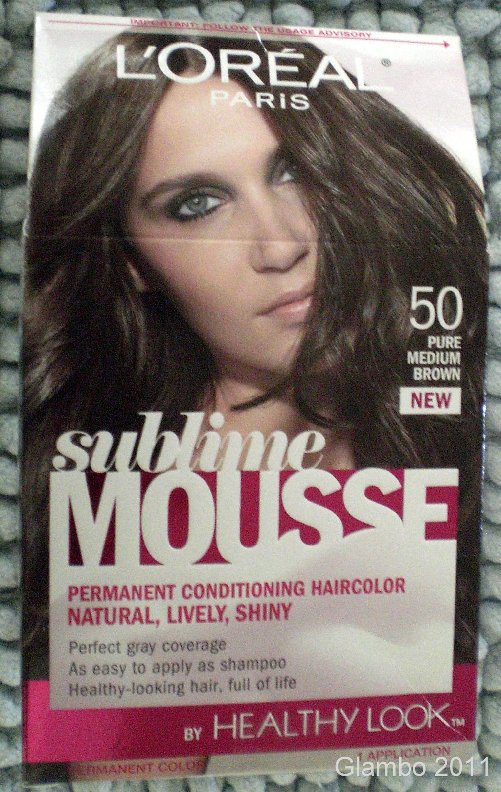 GLAMBO: L\'OREAL Sublime Mousse Hair Color