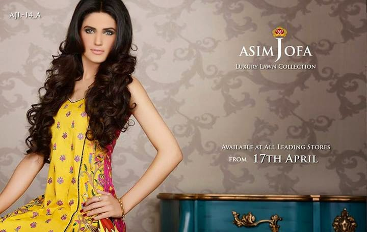 Asim jof luxury collection available at all stores from 17 april