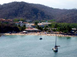 La Entrega Beach Resort Town Huatulco Mexico