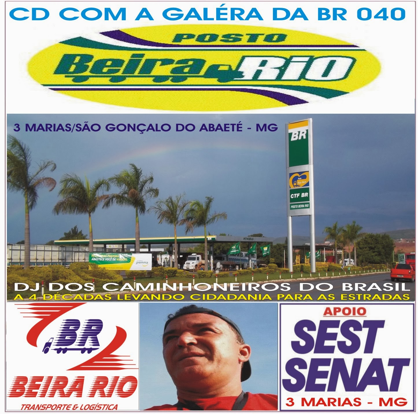 CD DO POSTO BEIRA RIO