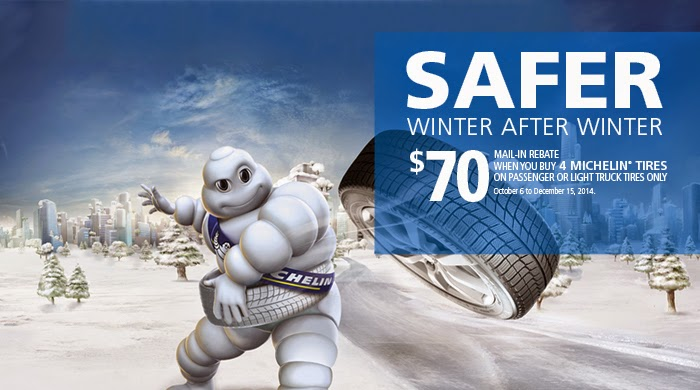 Michelin Tire Rebate and Coupons May 2018