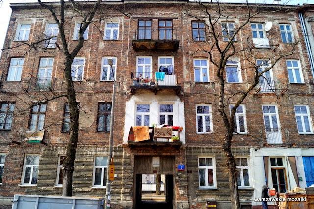 Warszawa kamienica Praga Północ zabytek cegła