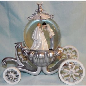 Disney Wedding Snowglobe