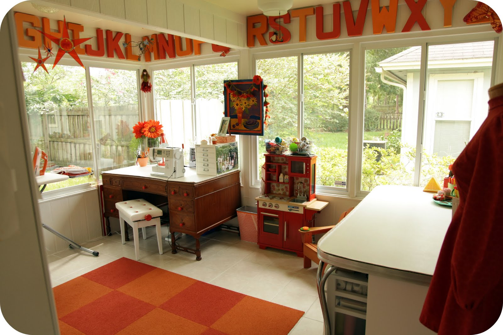 Staying steyn my sewing area Sewing room ideas