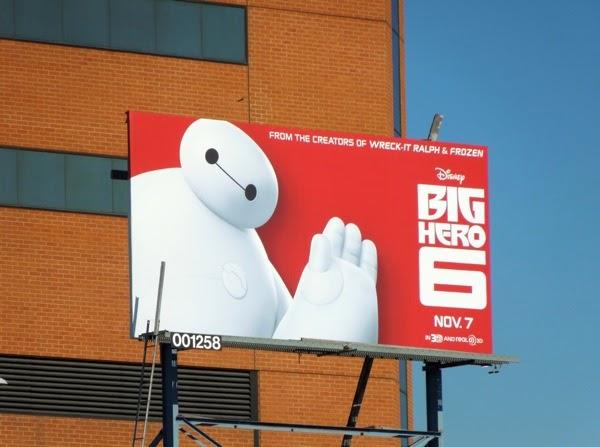 Big Hero 6 Baymax movie billboard