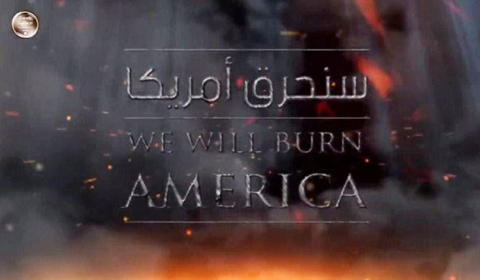 Iszlám Állam, dzsihadista terrorszervezetet, terrorizmus, ISIS, we will burn america