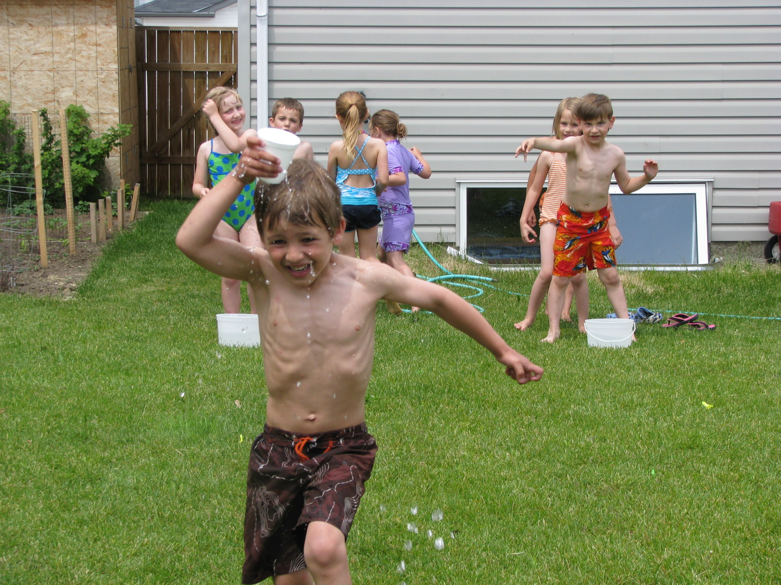 Making Merry Memories More Water Games