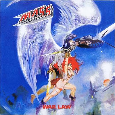 metal album cover warrior woman red sonja