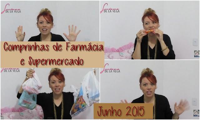comprinhas, cosméticos, cabelo vermelho cereja, cabelo duas cores, frmácia, supermercado