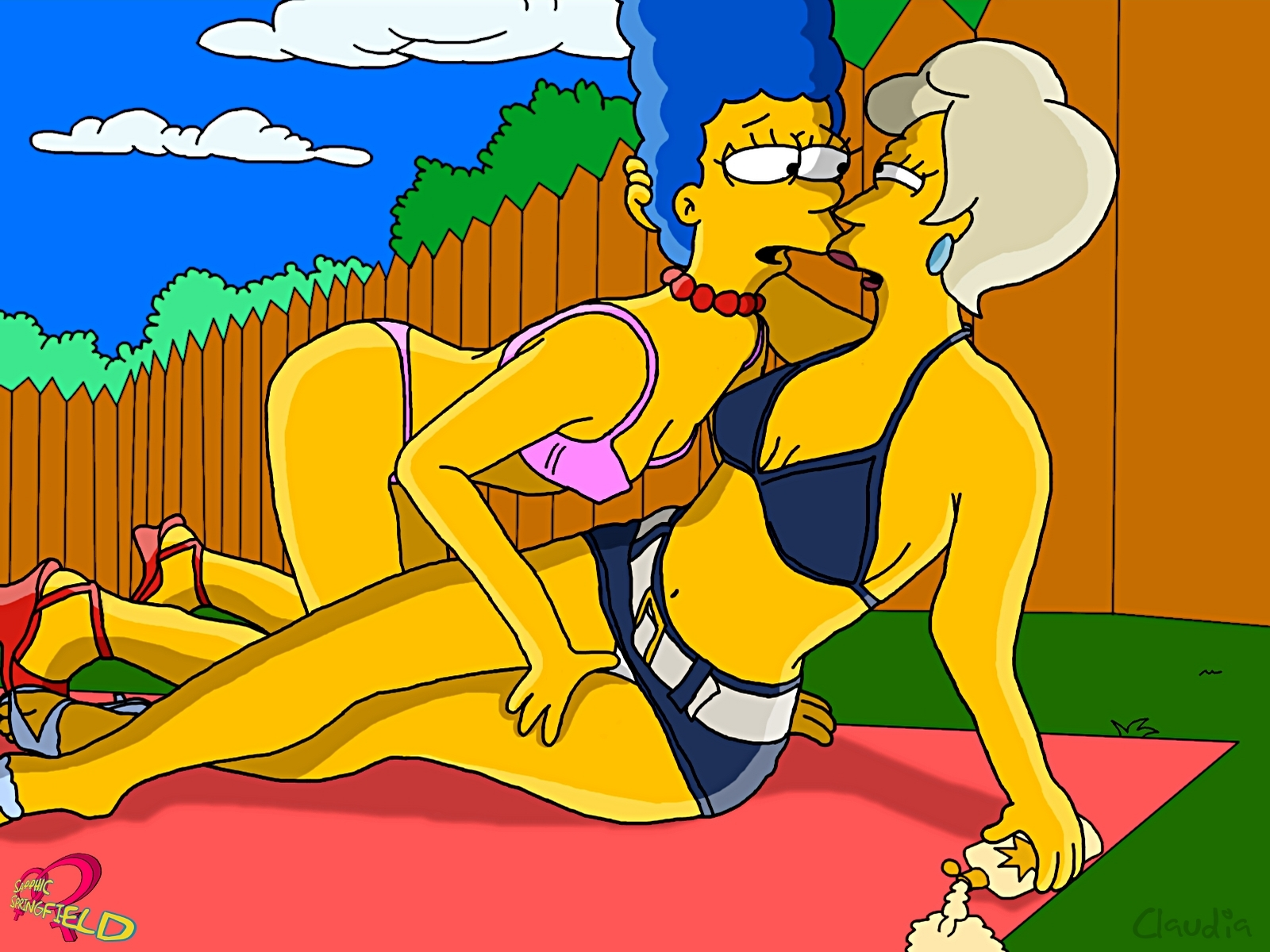 from Thiago marge simpson nude and fucking the indian lady
