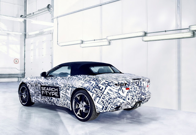 New Jaguar F-Type coupe 2013 first official photos