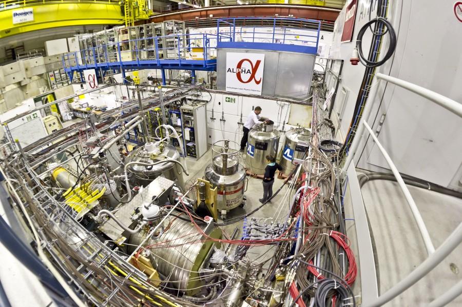 ALPHA ( 38 )  -  EXPÉRIENCE - CERN - LHC  (  Proche XXX  ) Cern_alpha_overview
