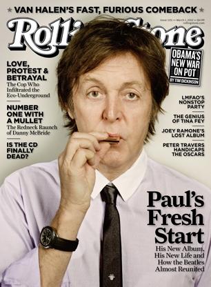 paul mccartney, rolling stone, paul mccartney revista rolling stone
