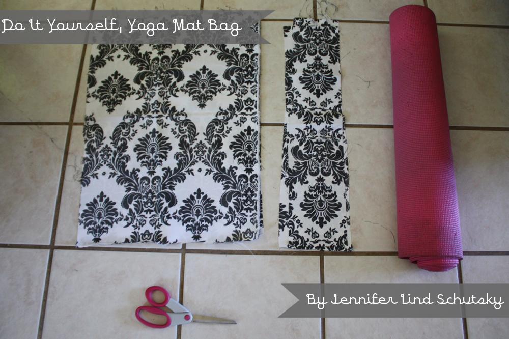 D I Y Cupcake D I Y Yoga Mat Bag A Tutorial