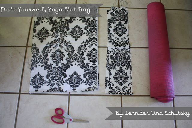 D I Y Cupcake D I Y Yoga Mat Bag A Tutorial