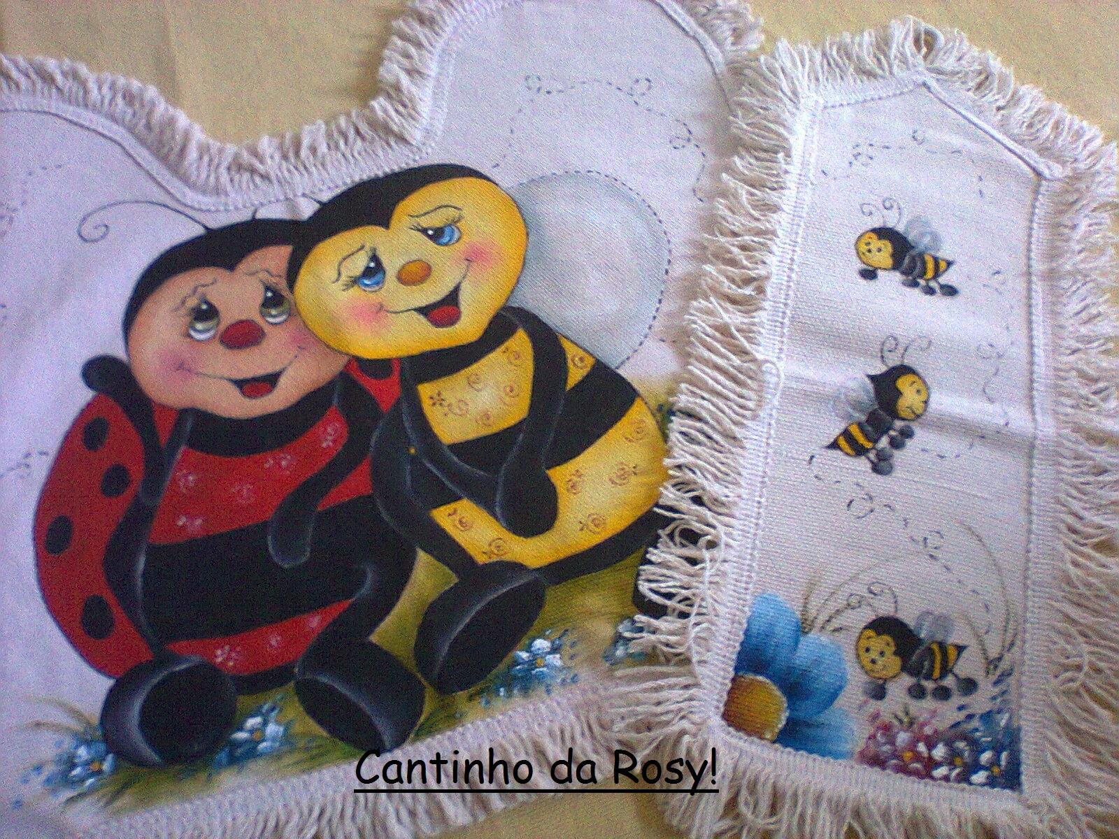 Cantinho da Rosyane: Conjunto de banheiro! .(pintura em tecido)♥ #A27D29 1600 1200