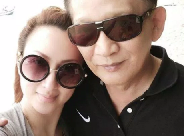Maria Farida dan Suami