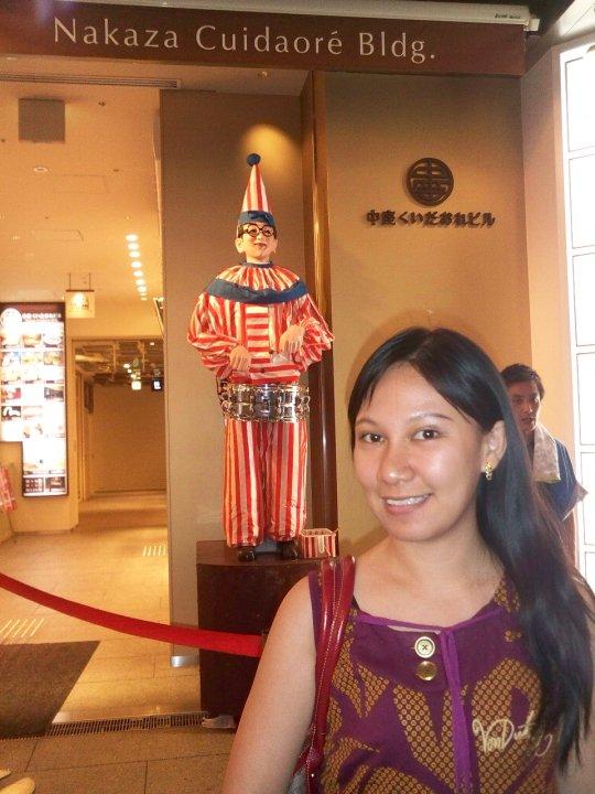 Osaka Japan Dotonbori Kuidaore Clown Kuidaore Taro