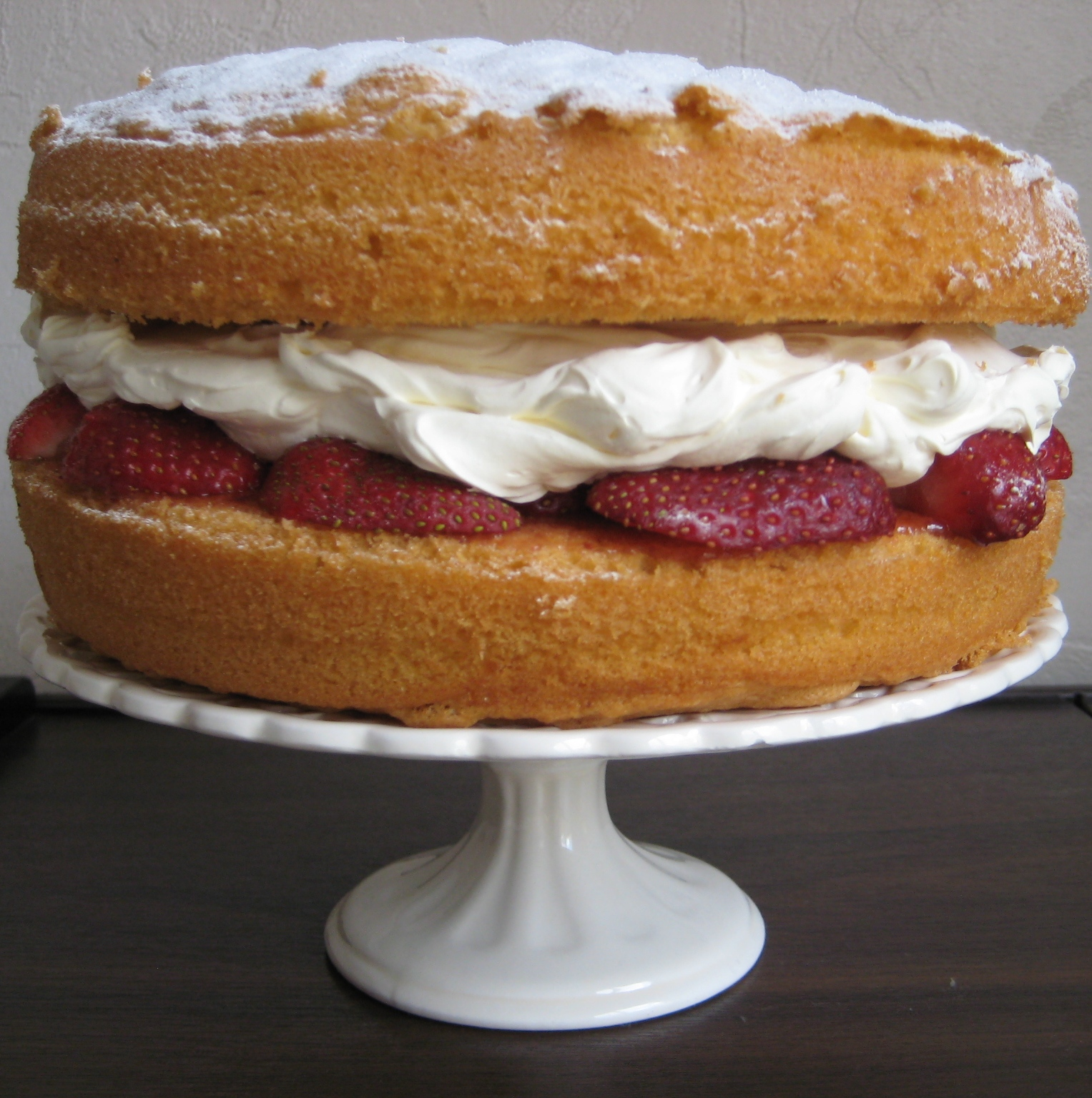 cup of tea solves everything: Victoria Sponge