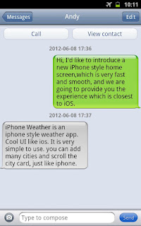 iPhone Messages 1.24 APK